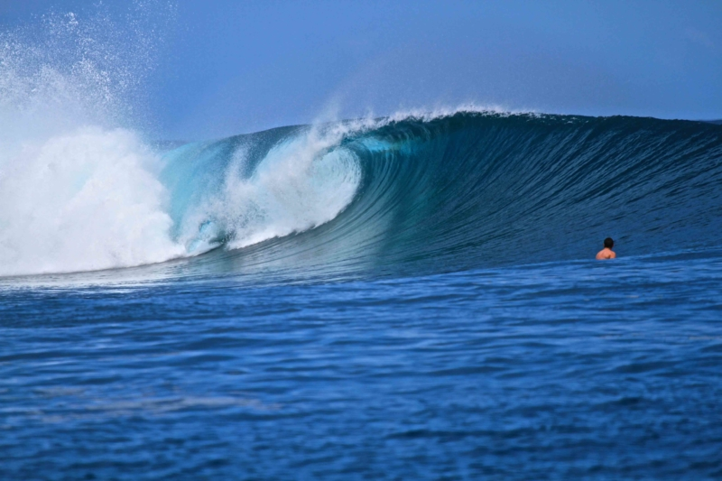 Lance's left- one of the types of surf breaks in the Mentawai Islands