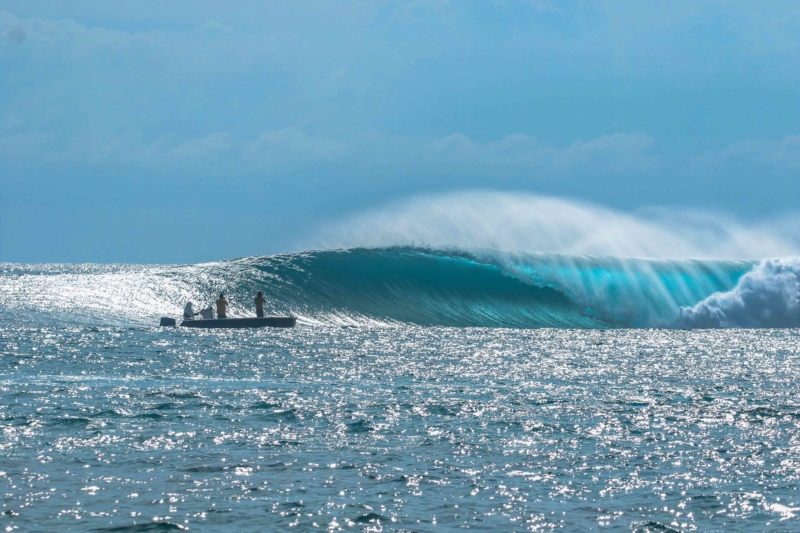 Lance's right (HT's)- one of the types of surf breaks in the Mentawai Islands