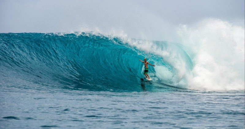Rifles- one of the types of surf breaks in the Mentawai Islands