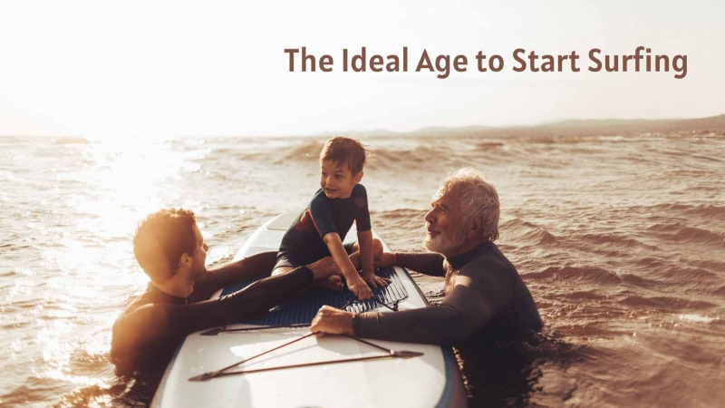 The Ideal Age to Start Surfing