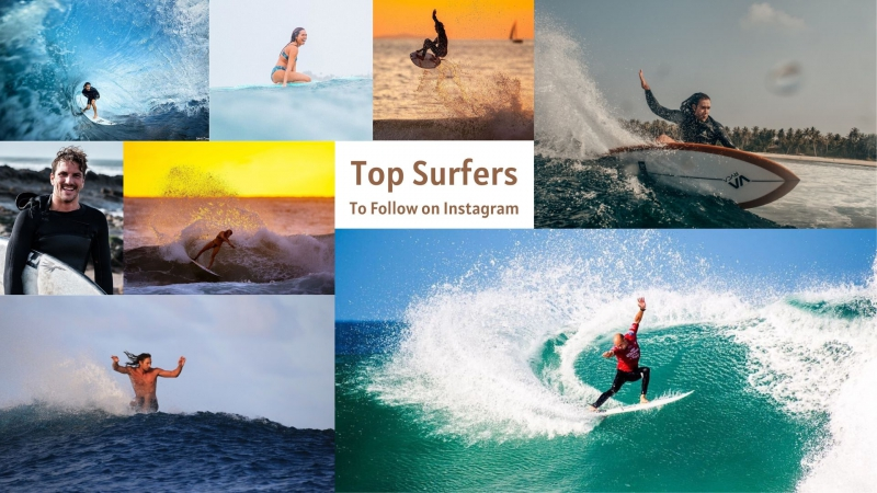 Top Surfers to follow on instagram